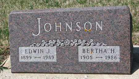 KIEL JOHNSON, BERTHA H. - Union County, South Dakota | BERTHA H. KIEL JOHNSON - South Dakota Gravestone Photos