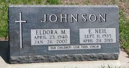 SHUCK JOHNSON, ELDORA MARIE - Union County, South Dakota   ELDORA MARIE SHUCK JOHNSON - South Dakota Gravestone Photos