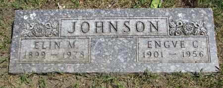 JOHNSON, ENGVE C. - Union County, South Dakota | ENGVE C. JOHNSON - South Dakota Gravestone Photos