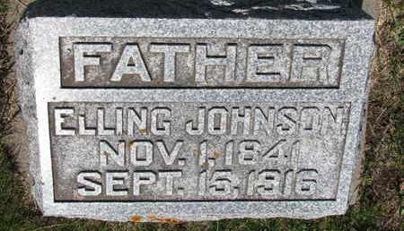 JOHNSON, ELLING - Union County, South Dakota   ELLING JOHNSON - South Dakota Gravestone Photos