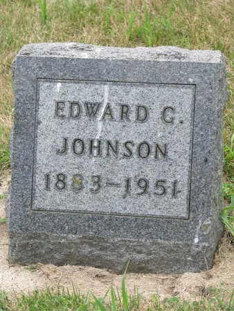 JOHNSON, EDWARD CHARLES - Union County, South Dakota | EDWARD CHARLES JOHNSON - South Dakota Gravestone Photos