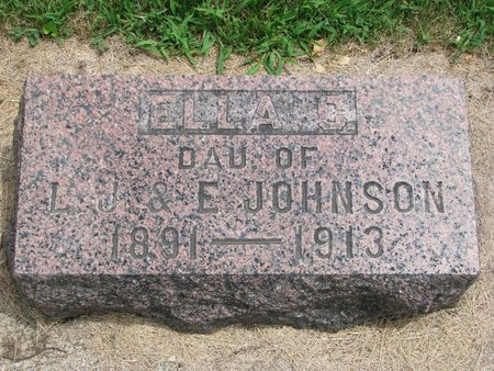 JOHNSON, ELLA C. - Union County, South Dakota | ELLA C. JOHNSON - South Dakota Gravestone Photos
