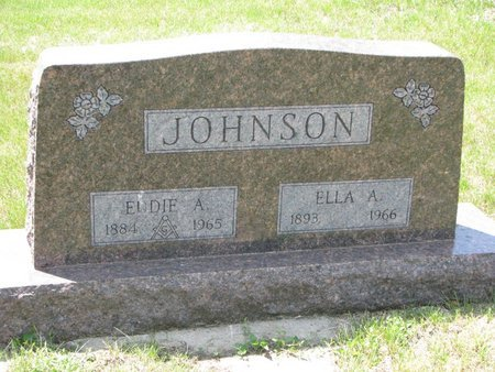 JOHNSON, ELLA A. - Union County, South Dakota | ELLA A. JOHNSON - South Dakota Gravestone Photos
