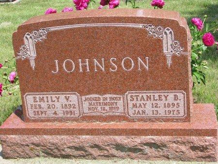 JOHNSON, EMILY V. - Union County, South Dakota | EMILY V. JOHNSON - South Dakota Gravestone Photos