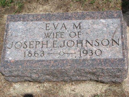 JOHNSON, EVA M. - Union County, South Dakota   EVA M. JOHNSON - South Dakota Gravestone Photos