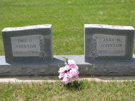 JOHNSON, ANNA M. - Union County, South Dakota | ANNA M. JOHNSON - South Dakota Gravestone Photos