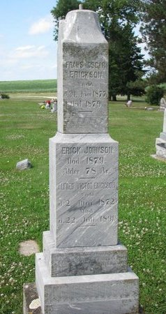 JOHNSON, ERICK - Union County, South Dakota | ERICK JOHNSON - South Dakota Gravestone Photos