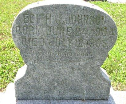 JOHNSON, EDITH JOSEPHINA - Union County, South Dakota | EDITH JOSEPHINA JOHNSON - South Dakota Gravestone Photos