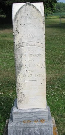 JOHNSON, EMMA CHRISTINA - Union County, South Dakota | EMMA CHRISTINA JOHNSON - South Dakota Gravestone Photos