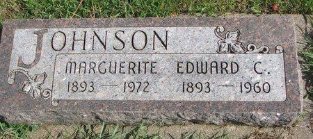 JOHNSON, EDWARD C. - Union County, South Dakota | EDWARD C. JOHNSON - South Dakota Gravestone Photos