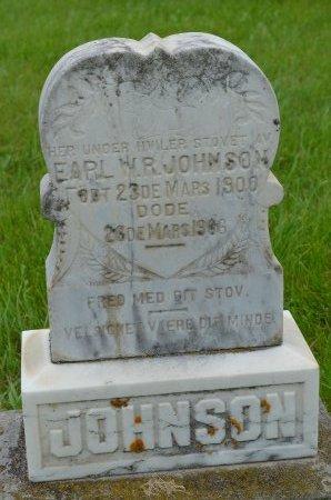 JOHNSON, EARL W.R. - Union County, South Dakota | EARL W.R. JOHNSON - South Dakota Gravestone Photos