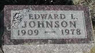 JOHNSON, EDWARD L - Union County, South Dakota   EDWARD L JOHNSON - South Dakota Gravestone Photos