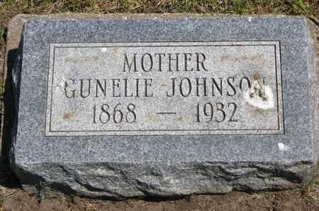 JOHNSON, GUNELIE - Union County, South Dakota | GUNELIE JOHNSON - South Dakota Gravestone Photos