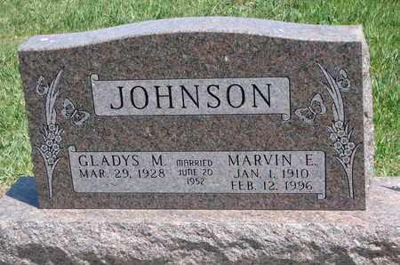 JOHNSON, GLADYS M. - Union County, South Dakota   GLADYS M. JOHNSON - South Dakota Gravestone Photos