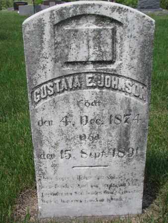 JOHNSON, GUSTAVA E. - Union County, South Dakota | GUSTAVA E. JOHNSON - South Dakota Gravestone Photos