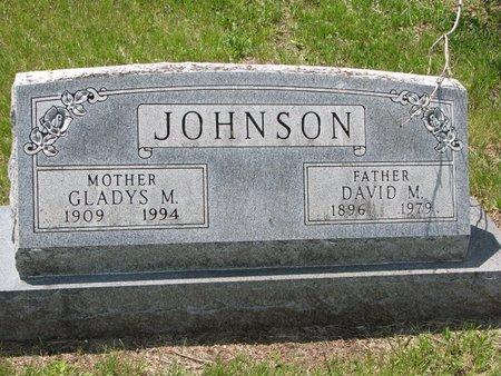 JOHNSON, DAVID M. - Union County, South Dakota | DAVID M. JOHNSON - South Dakota Gravestone Photos