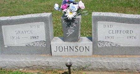JOHNSON, CLIFFORD - Union County, South Dakota | CLIFFORD JOHNSON - South Dakota Gravestone Photos
