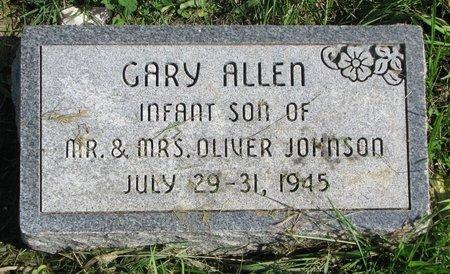 JOHNSON, GARY ALLEN - Union County, South Dakota | GARY ALLEN JOHNSON - South Dakota Gravestone Photos