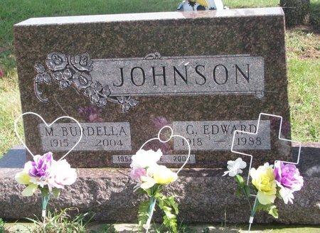 JOHNSON, G. EDWARD - Union County, South Dakota | G. EDWARD JOHNSON - South Dakota Gravestone Photos