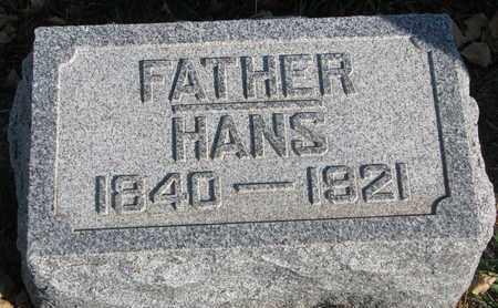 JOHNSON, HANS - Union County, South Dakota | HANS JOHNSON - South Dakota Gravestone Photos