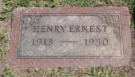 JOHNSON, HENRY ERNEST - Union County, South Dakota | HENRY ERNEST JOHNSON - South Dakota Gravestone Photos