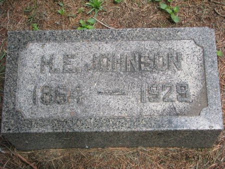 JOHNSON, H.E. - Union County, South Dakota | H.E. JOHNSON - South Dakota Gravestone Photos