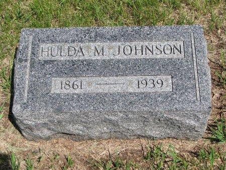 JOHNSON, HULDA MARIE - Union County, South Dakota | HULDA MARIE JOHNSON - South Dakota Gravestone Photos
