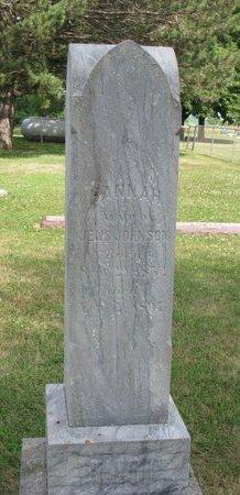 BENGSTON JOHNSON, HANNAH - Union County, South Dakota | HANNAH BENGSTON JOHNSON - South Dakota Gravestone Photos