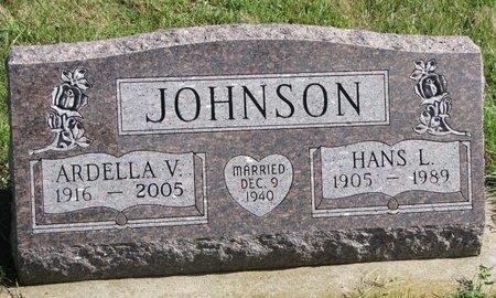 JOHNSON, ARDELLA V. - Union County, South Dakota | ARDELLA V. JOHNSON - South Dakota Gravestone Photos