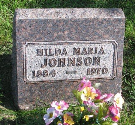 JOHNSON, HILDA MARIA - Union County, South Dakota | HILDA MARIA JOHNSON - South Dakota Gravestone Photos