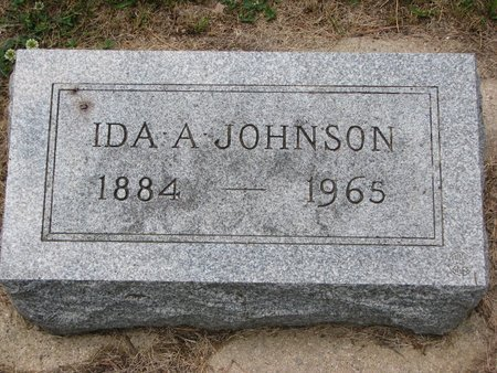 JOHNSON, IDA A. - Union County, South Dakota | IDA A. JOHNSON - South Dakota Gravestone Photos