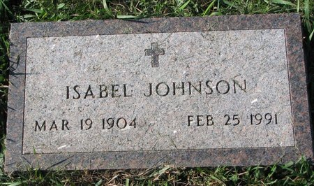 LATENDRESSE JOHNSON, ISABEL MATILDA - Union County, South Dakota | ISABEL MATILDA LATENDRESSE JOHNSON - South Dakota Gravestone Photos