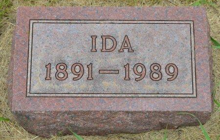 JOHNSON, IDA - Union County, South Dakota   IDA JOHNSON - South Dakota Gravestone Photos