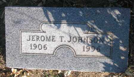 JOHNSON, JEROME T. - Union County, South Dakota | JEROME T. JOHNSON - South Dakota Gravestone Photos