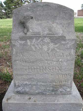JOHNSON, JOHANNA - Union County, South Dakota   JOHANNA JOHNSON - South Dakota Gravestone Photos