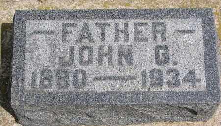 JOHNSON, JOHN GERHARD - Union County, South Dakota | JOHN GERHARD JOHNSON - South Dakota Gravestone Photos