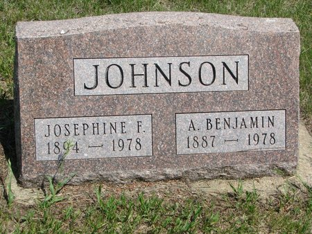 JOHNSON, JOSEPHINE F. - Union County, South Dakota | JOSEPHINE F. JOHNSON - South Dakota Gravestone Photos