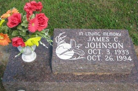 JOHNSON, JAMES C. - Union County, South Dakota   JAMES C. JOHNSON - South Dakota Gravestone Photos