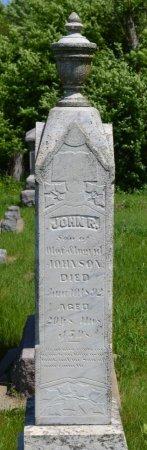 JOHNSON, JOHN R. - Union County, South Dakota | JOHN R. JOHNSON - South Dakota Gravestone Photos