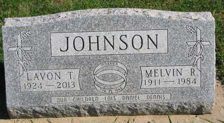 JOHNSON, MELVIN R - Union County, South Dakota | MELVIN R JOHNSON - South Dakota Gravestone Photos