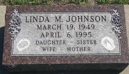 JOHNSON, LINDA M. - Union County, South Dakota | LINDA M. JOHNSON - South Dakota Gravestone Photos