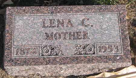 JOHNSON, LENA C. - Union County, South Dakota | LENA C. JOHNSON - South Dakota Gravestone Photos