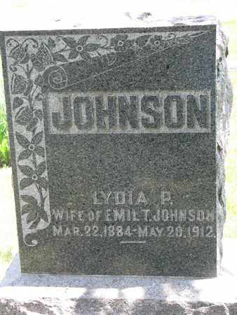 JOHNSON, LYDIA P. - Union County, South Dakota | LYDIA P. JOHNSON - South Dakota Gravestone Photos