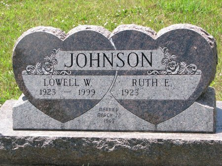 JOHNSON, LOWELL W. - Union County, South Dakota | LOWELL W. JOHNSON - South Dakota Gravestone Photos