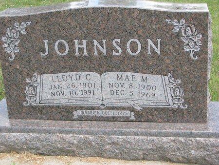 JOHNSON, MAE M. - Union County, South Dakota | MAE M. JOHNSON - South Dakota Gravestone Photos