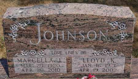 JOHNSON, LLOYD K - Union County, South Dakota | LLOYD K JOHNSON - South Dakota Gravestone Photos