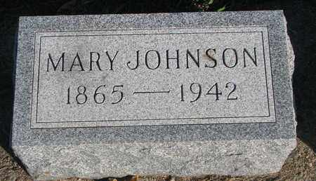 JOHNSON, MARY - Union County, South Dakota | MARY JOHNSON - South Dakota Gravestone Photos