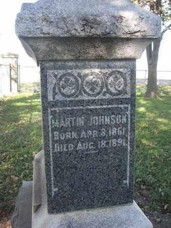 JOHNSON, MARTIN - Union County, South Dakota | MARTIN JOHNSON - South Dakota Gravestone Photos