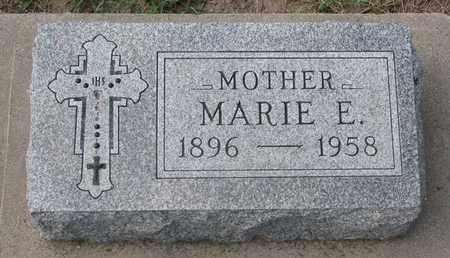 JOHNSON, MARIE E. - Union County, South Dakota | MARIE E. JOHNSON - South Dakota Gravestone Photos