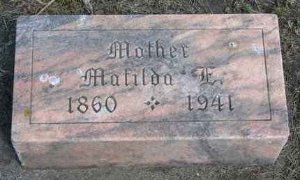JOHNSON, MATILDA E. - Union County, South Dakota | MATILDA E. JOHNSON - South Dakota Gravestone Photos